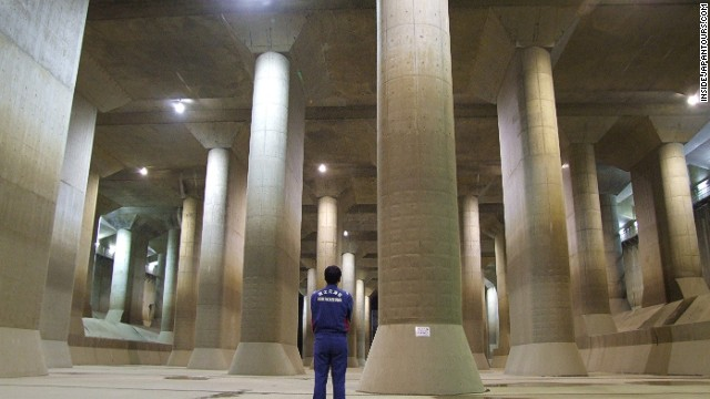 Tours of this engineering marvel, built to keep Tokyo dry during the rainy season, take place three times a day.