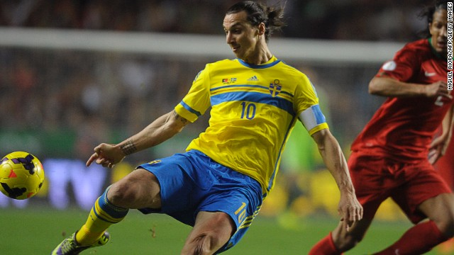 In a series billed as a battle between Ronaldo and Zlatan Ibrahimovic, 'Ibra' was silenced in the first leg as the Swedes increasingly sat back in an attempt to thwart Portugal.