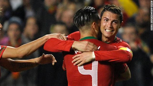 Cristiano Ronaldo le da el triunfo a Portugal en el primer partido del repechaje ante Suecia