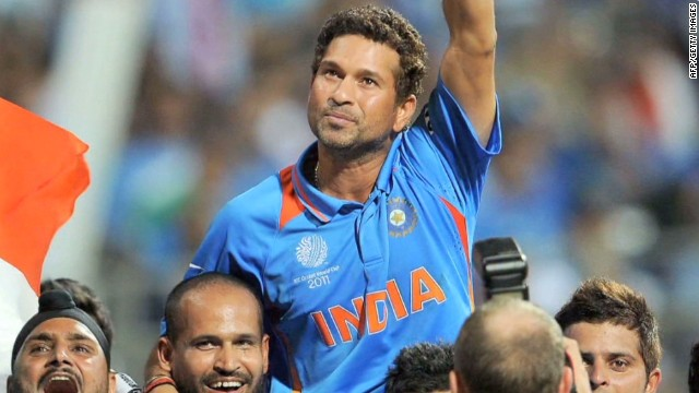 "Sachin Tendulkar finally waved goodbye to his adoring cricket fans following a stellar international career which lasted 24 years and one day. The Indian batsman, nicknamed ""The Little Master"" is considered one of the finest players of all time."