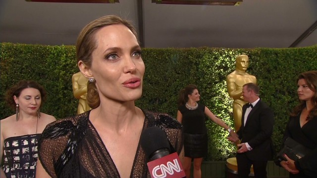 Angelina Jolie's emotional acceptance speech at Governors Awards