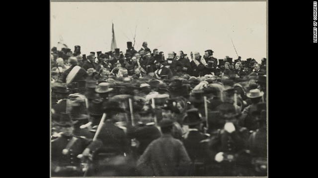 Photographs of the Gettysburg Address