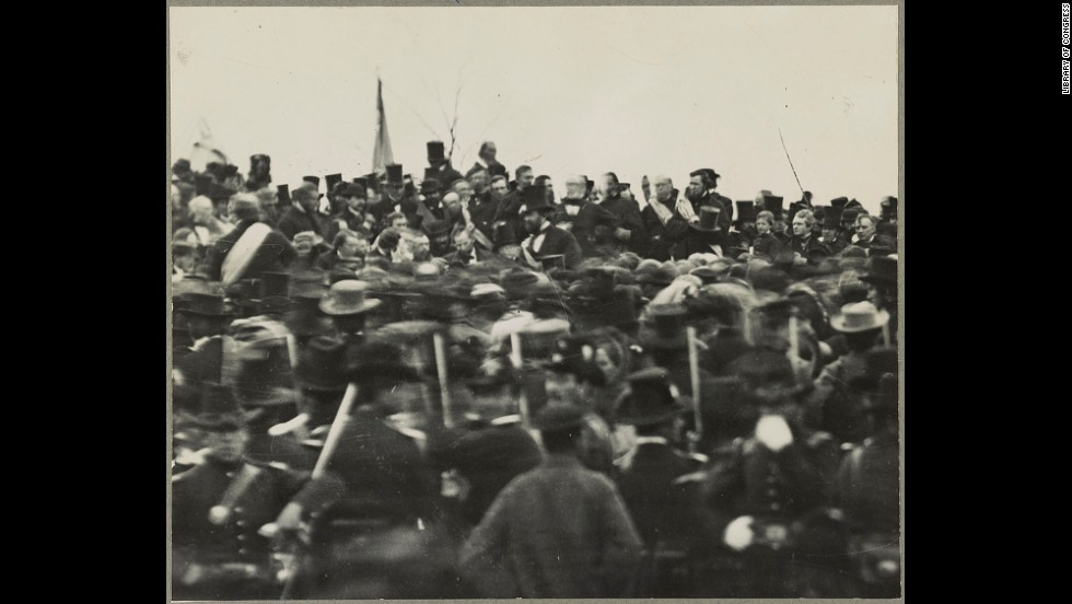Photographs Of The Gettysburg Address Cnn Com