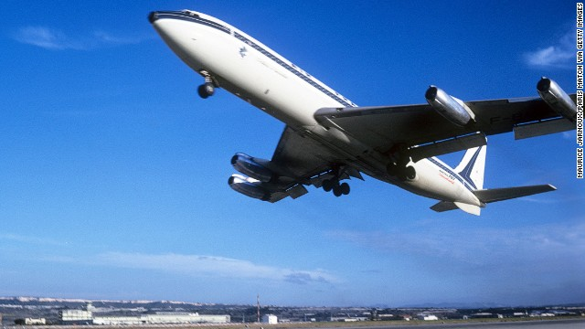 The 707 doesn't look like much now, but it started the 7-series of Boeing planes and is viewed as the jet that ushered in commercial air travel. It was the dominant passenger airplane of the 1960s.