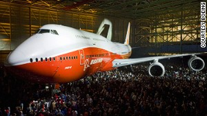 The 747 debuted at the Paris Air Show in 1969.