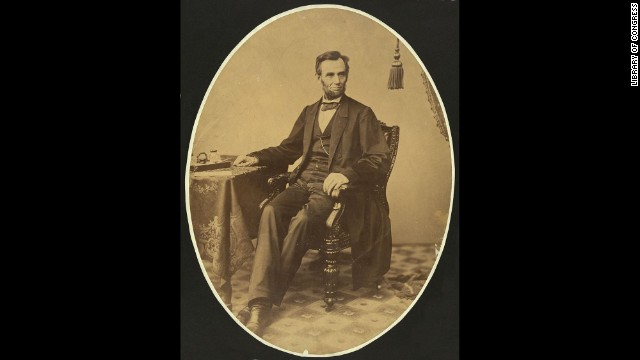 Lincoln poses for a photograph on November 8, 1863, days before he delivered the famous speech.