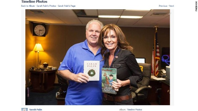 Sarah Palin meets Rush Limbaugh