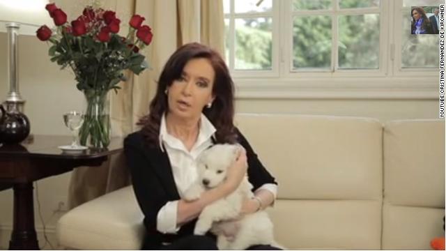 Cristina Fernández de Kirchner reaparece con un video en YouTube