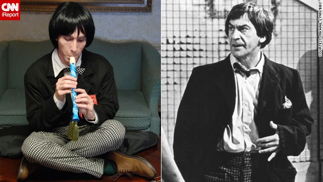 "<a href='http://ireport.cnn.com/docs/DOC-1061333'>Mikhail Lynn</a> cosplays as multiple doctors, including the recorder-playing Second Doctor, who was portrayed by Patrick Troughton. He holds a special place in the St. Louis resident's heart: ""Confident in his abilities and downright cocky at times, he never took himself too seriously. When faced with danger, the mercurial Doctor would play up the image of a hapless bumbler to throw off his enemies only to reveal a darker, sometimes ruthless side that was both a cunning strategist and fiercely loyal to his companions."""