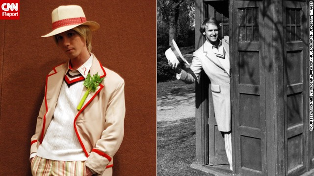 <a href='http://ireport.cnn.com/docs/DOC-1061333'>Mikhail Lynn</a> plays the Fifth Doctor.