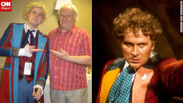 "<a href='http://ireport.cnn.com/docs/DOC-1060781'>Trey Tackett</a> didn't just dress like the colorful Sixth Doctor, he got to meet the man himself, Colin Baker, back in May. ""There was something about the Sixth Doctor that just appealed to me,"" said the Roanoke, Virginia, sales clerk. ""He was brash, blunt and honest."""