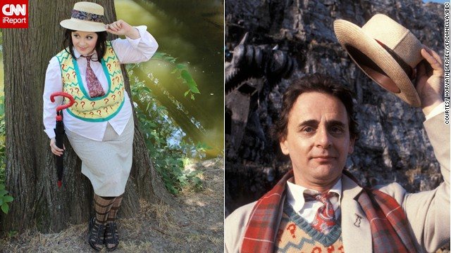 """Erdaniella"" got together with some female friends in Budapest, Hungary, last summer to do a photo shoot as all 11 Doctors. She chose Sylvester McCoy's Seventh Doctor. ""He is one of my favorites for his gamesmaster way of dealing with things."""