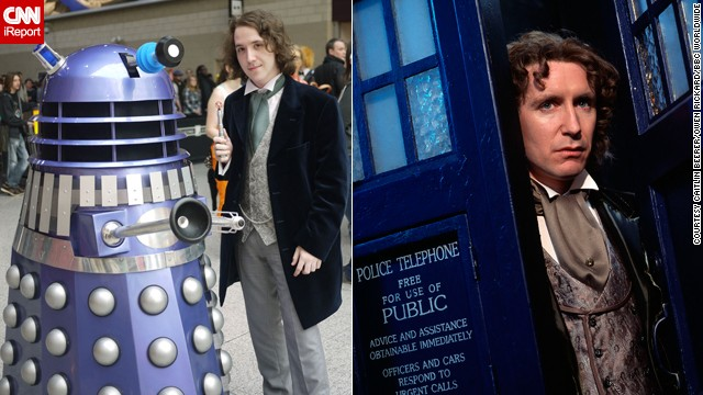 Paul McGann's time as the Eighth Doctor lasted only about 90 minutes -- with six minutes tacked on just recently in a webisode -- but it was long enough to make an impact on London resident <a href='http://ireport.cnn.com/docs/DOC-1061543'>Owen Rickard</a>.