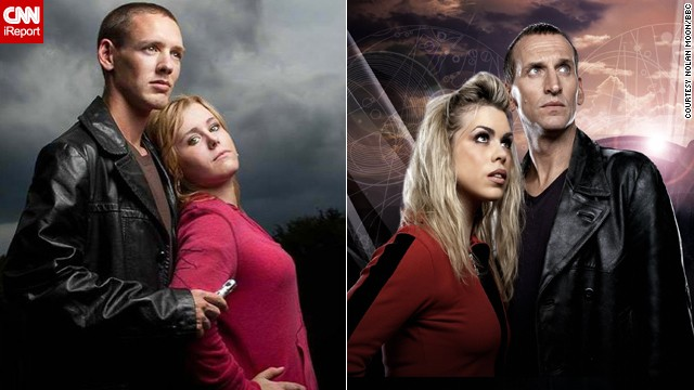 """Doctor Who"" made a triumphant return to TV in 2005 with Christopher Eccleston's Ninth Doctor. Nolan Moon of Orlando often cosplays as this Doctor, and Allison Farrell often dresses like his companion, Rose Tyler."