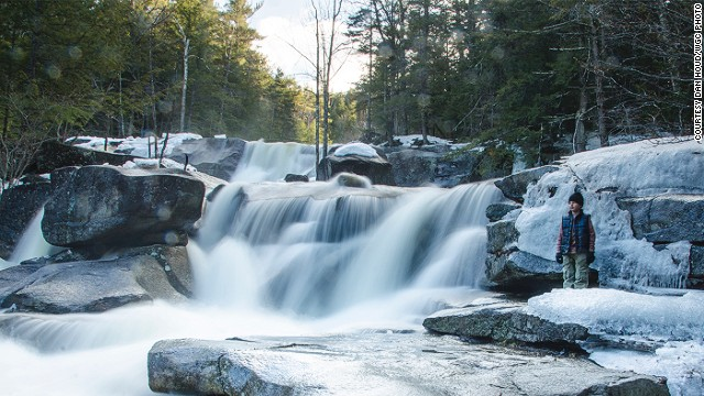 "Diana's Baths are a series of small waterfalls on the edge of Bartlett, a town in New Hampshire. ""Between the ledges, pools, and rock formations there's endless beauty for the curious mind and hungry eye,"" says photographer Shawn Brace. <strong>More: </strong><strong><a href='http://edition.cnn.com/2013/09/25/travel/10-things-u-s-does-better/'>10 things the U.S. does better than anywhere else</a></strong>"