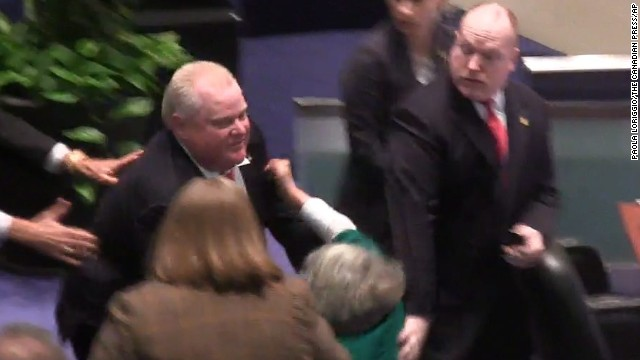 Photos: Toronto Mayor Rob Ford controversy