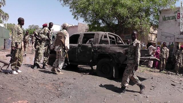 Somalia's al-Shabaab launched the attack in Beledweyne.