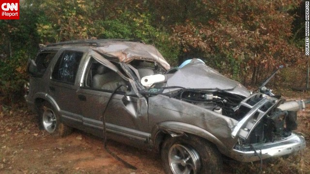 Family friends drove up from Florida to salvage the couple's belongings after the crash.