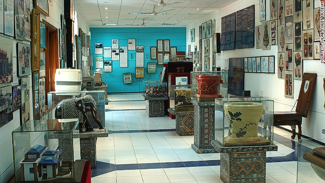 This Indian toilet museum examines the evolution of the lavatory from 3000 B.C. to present day. On display are antiquated toilets, including ornately painted medieval urinals and ancient stoneware chamber pots, juxtaposed with futuristic models. Read more: 7 wackiest museums in Asia