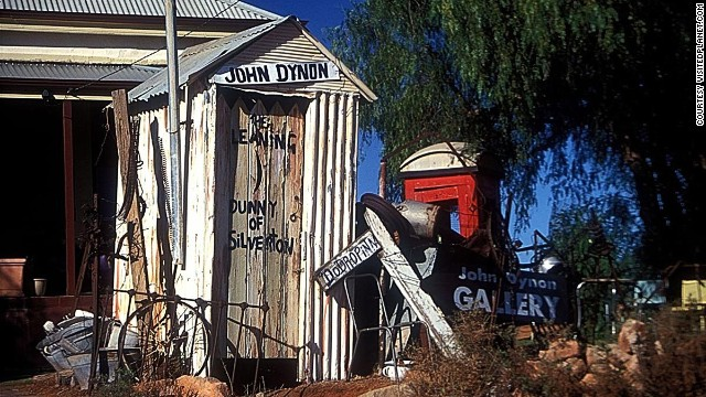 "In Australia, the outhouse is called a ""dunny,"" and the few that survive to day have evolved into tourist attractions. The Leaning Dunny (pictured) comes with its own art gallery and is located in a former gold-mining town which is often featured in commercials and movies for its rugged landscape. Read more: The long drop: Australia's outback dunnies"