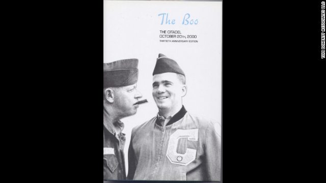"Conroy's first book, ""The Boo,"" is a collection of stories, letters and tales based on Lt. Col. Thomas ""The Boo"" Courvoisie, commander of The Citadel when young cadet Conroy attended the military college in Charleston, South Carolina."