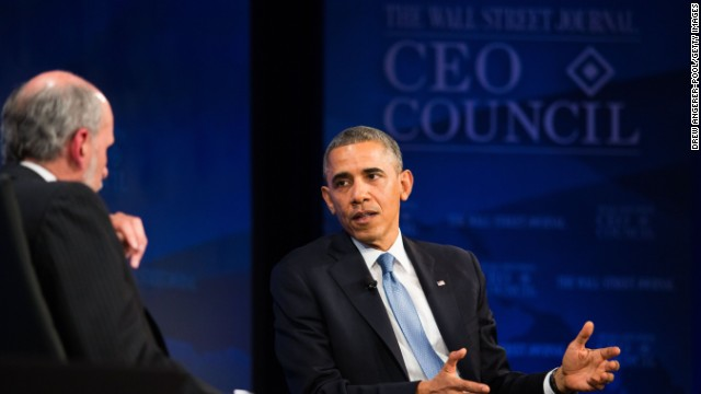 Obama: 'Probably no bigger gap' between private and public sector than info technology