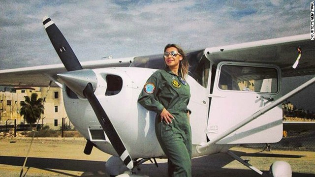 Alia Twal is one of 20 female pilots in Jordan, a country with a population of 6.3 million. With Middle East air carriers expanding, the time is ripe for women to enter the cockpit