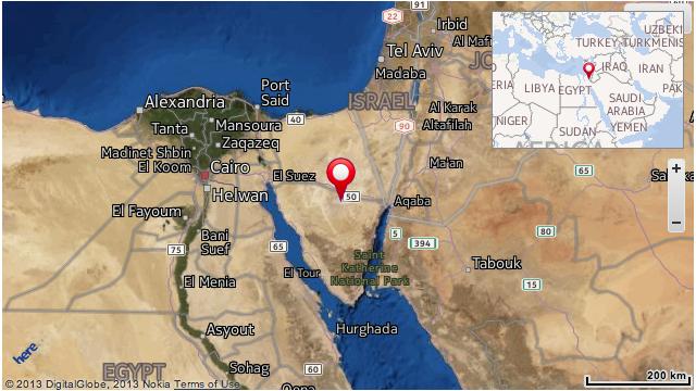 Coche bomba mata a 10 soldados en el Sinaí egipcio