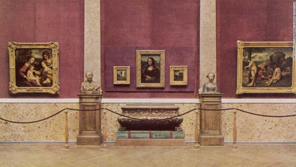 La Mona Lisa se recuperó hace 100 años