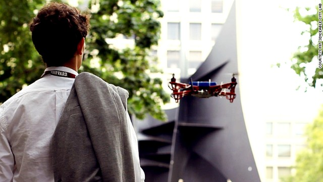 Meet SkyCall, a flying robot that guides you to your destination. Find out how