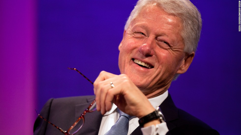 "Former President Bill Clinton is one of 16 recipients of the Presidential Medal of Freedom this year. The 42nd president is being honored for his service in the White House as well as for founding the Clinton Foundation, which strives ""to improve global health, strengthen economies, promote health and wellness, and protect the environment,"" <a href='http://www.whitehouse.gov/the-press-office/2013/08/08/president-obama-names-presidential-medal-freedom-recipients' target='_blank'>according to the White House</a>."