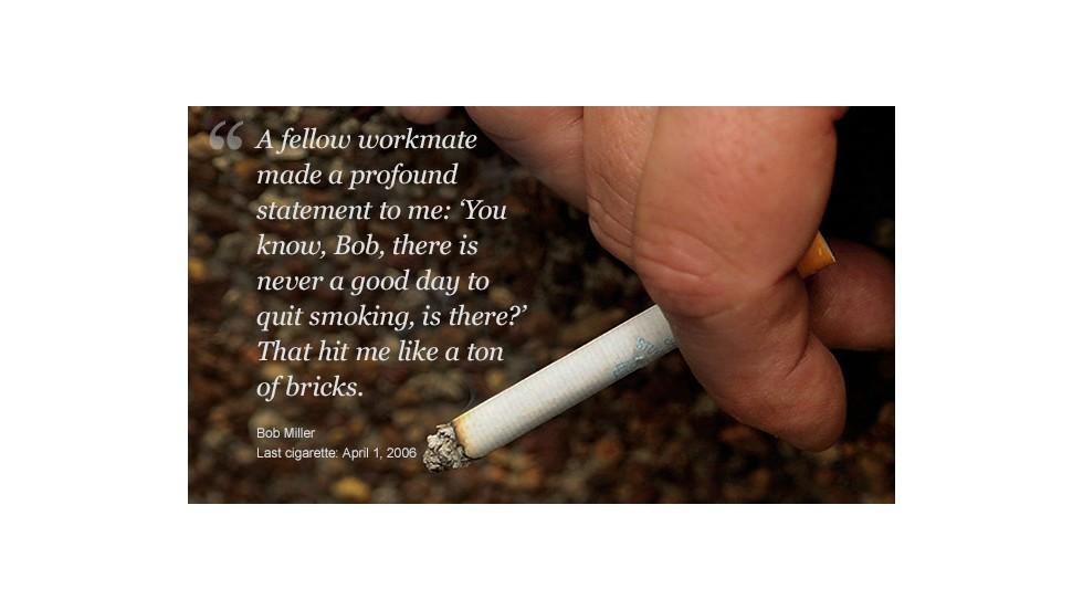 Se puede dejará a fumar rápidamente