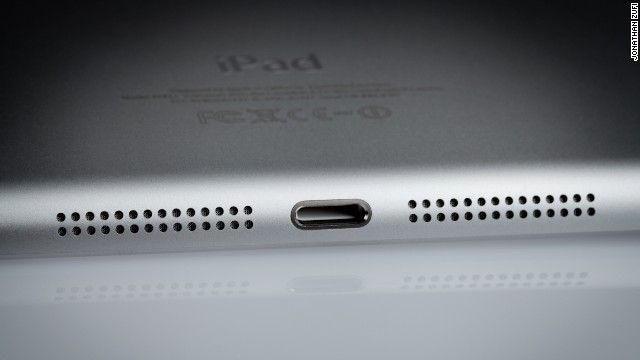 Zufi said he wanted to avoid images that looked like promotional product shots. He often focused on small details of Apple products, like this iPad Mini.