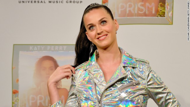 Katy Perry's love is like a car crash in a snow storm