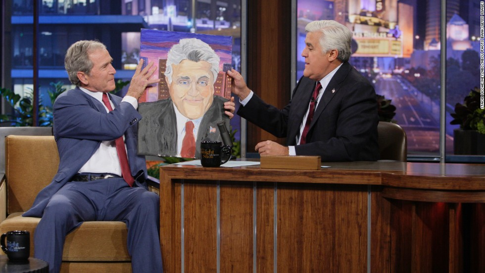 "Former President George W. Bush has surprised many by taking up painting in his post-White House years. ""I am a painter,"" the 43rd president told Jay Leno during a recent appearance on ""The Tonight Show."" ""You may not think I'm a painter; I think I'm a painter,"" said Bush, who has been taking painting lessons in Dallas. Here's a look at the hobbies of other presidents:"