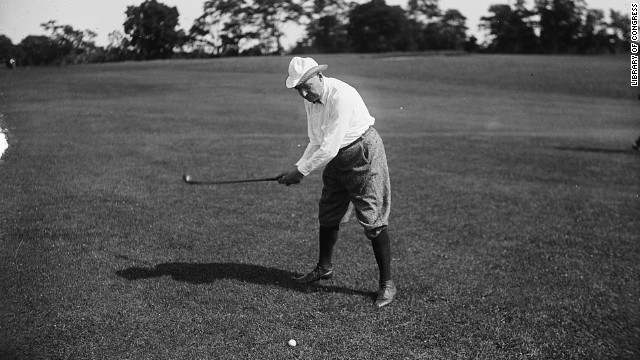 Warren G. Harding was an avid golfer. Golf courses in Los Angeles and San Francisco were named after the 29th president.