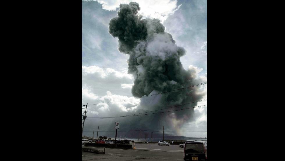 Volcanes con actividad reciente