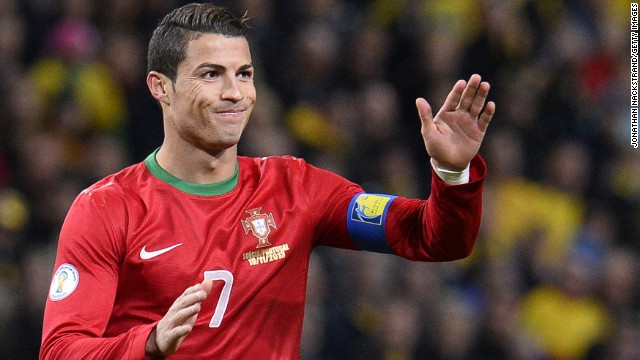 The Portuguese could be officially named the world's best footballer for the first time since 2008 after a stunning year in which he has scored 66 goals in 55 games. He finished top scorer in last season's Champions League and has plundered 32 goals from his opening 20 games of the new term.