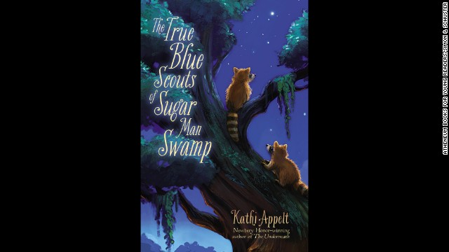 "<strong>Young people's literature: </strong>Kathi Appelt, ""<a href='http://www.nationalbook.org/nba2013_ypl_appelt.html#.Uo1-142vWL0' target='_blank'>The True Blue Scouts of Sugar Man Swamp</a>"""