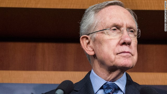 Senate Majority Leader Harry Reid out of hospital