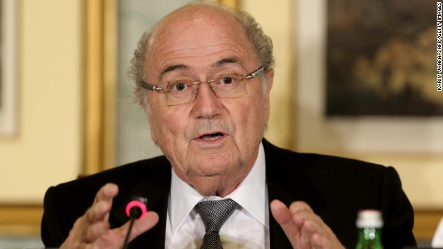 FIFA president Sepp Blatter met with the Emir of Qatar earlier this month.
