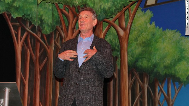 "Asked by a Spanish journalist to explain why the Pythons had reformed, Michael Palin said: ""No one expected the Spanish Inquisition"" -- a reference to one of his sketches."