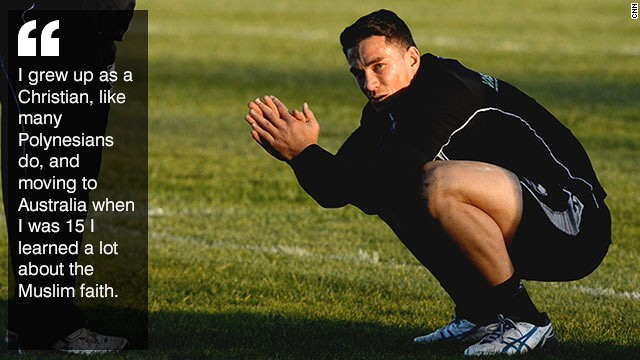 Sonny Bill Williams Islam Brings Me Happiness Cnn Com
