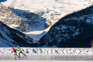 Lago Louise en el Parque Nacional Banff (Canadá)