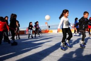 Pista de patinaje del Festival de Invierno Bondi (Sídney)
