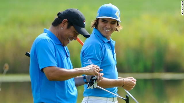 Begay and Fowler were paired together in the winning team at the 2013 tournament for his NB3 Foundation.