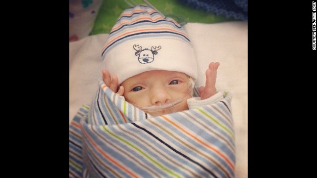 Ward spent the first 107 days of his life in the NICU at Nationwide Children's Hospital.
