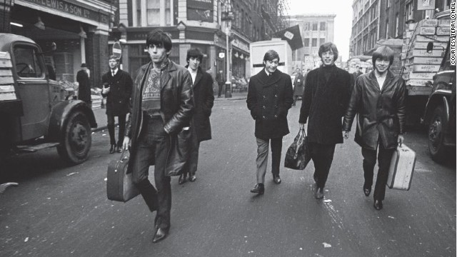 """The Rolling Stones were just these boys walking down the street. First time we got some cash we all went out and bought new guitars and Beatles boots,"" says guitarist Keith Richards."