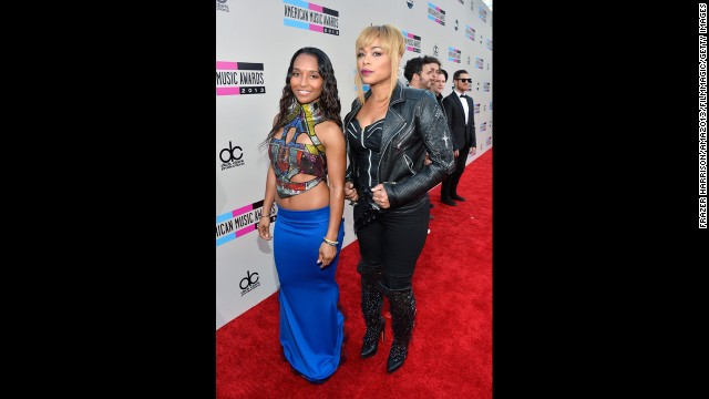 Chilli and T-Boz of TLC