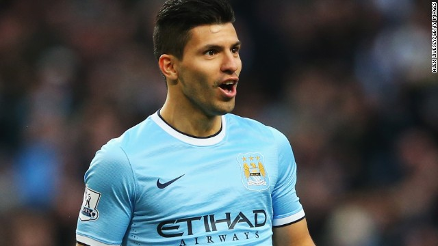 Sergio Aguero arrived at Manchester City in July 2011 following a $64 million move from Atletico Madrid. The Argentine striker helped the club win the Premier League title in 2012.